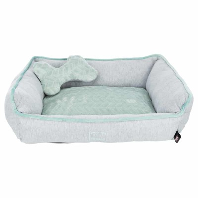 Cama JUNIOR gris/menta