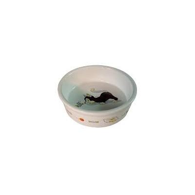 Comedero cerámica gato impreso