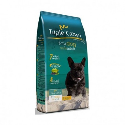 TRIPLE CROW . TOY DOG 2KG