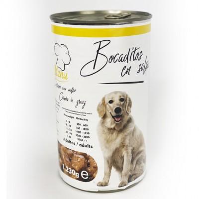 Bocaditos Dog en salsa de...