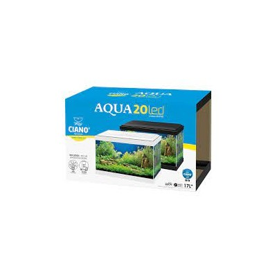 Acuario acua led Blanco 17L