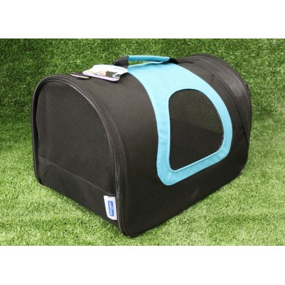 Bolso negro-azul 45x28x29